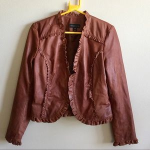 Bagatelle 💯 percent real leather jacket! Size-10